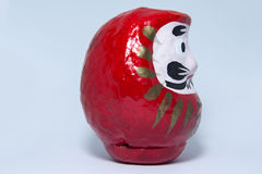 Red daruma doll Royalty Free Stock Images