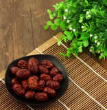 Red date. S, also known as Chinese date. Since ancient times, it was listed as one of the five fruits, has a long history. The most prominent feature is the high royalty free stock images