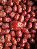 Red Date - Jujube Fruit Big Small Stock Photography