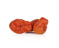 Red date on white background.  Royalty Free Stock Photos