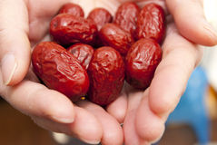 Red dates Stock Photos