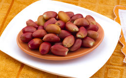 Red dates Royalty Free Stock Photo