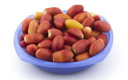 Red dates Royalty Free Stock Image