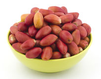 Red dates Royalty Free Stock Photography