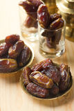 Red dates or kurma, traditional food in middle east Stock Photos