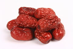 Red dates Royalty Free Stock Images