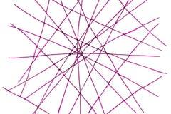 Red de líneas Fotografía de archivo