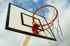 Red de la bola de la cesta Foto de archivo