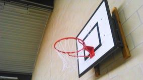 Red de la bola de la cesta Fotografía de archivo libre de regalías
