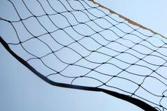 Red de la bola del voleo de la playa Imagen de archivo libre de regalías