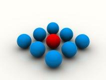 Red de la esfera Foto de archivo libre de regalías