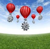 Red de la nube del Internet Imagen de archivo libre de regalías