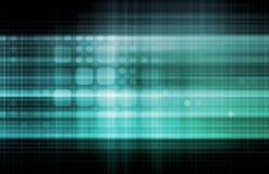 Red de la tecnología Imagenes de archivo