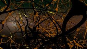 Red de las neuronas libre illustration
