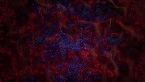 red de los nervios abstracta 4K con sinapsis de la leña ilustración del vector