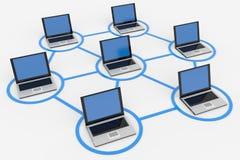 Red de ordenadores.