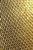 Red de oro abstracta Fotos de archivo libres de regalías