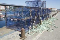 Red de pesca Fotos de archivo libres de regalías