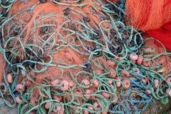 Red de pesca Fotos de archivo