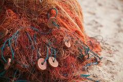 Red de pesca Foto de archivo libre de regalías