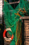 Red de pesca Fotografía de archivo libre de regalías