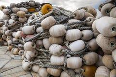 Red de pesca Imagen del color Imagen de archivo