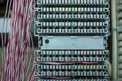 Red de sistema Foto de archivo libre de regalías