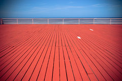 Red Deck by Ocean Stock Images