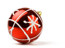 Red decoration ball Stock Photos