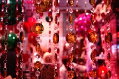 Red decorations Royalty Free Stock Photos