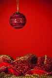 Red decorations Royalty Free Stock Photography