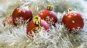 Red decorations #3 Royalty Free Stock Photos