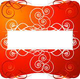 Red decorative background Stock Photos