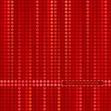 Red decorative background. With mosaic and space for your text Stock Images