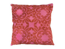 Red decorative pillow Royalty Free Stock Images