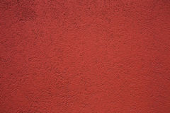 Red decorative plaster Stock Photography