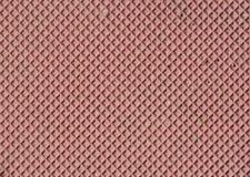 Red decorative tile  closeup Stock Image