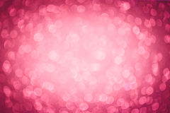Red defocused background. Red defocused abstract glittery background for christmas cards Royalty Free Stock Photo