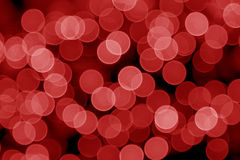 Red Defocused Lights Royalty Free Stock Image
