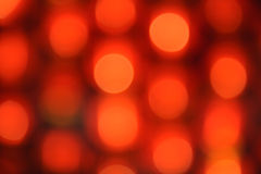 Red defocused lights background. Royalty Free Stock Image