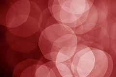 Red defocused lights Royalty Free Stock Images