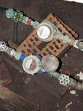 Red del abastecimiento de agua Imagen de archivo libre de regalías