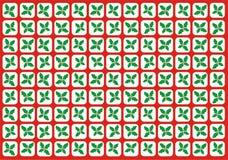 Red del acebo Foto de archivo libre de regalías