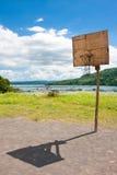 Red del baloncesto Fotografía de archivo libre de regalías