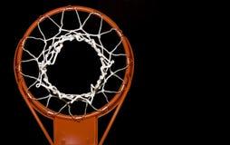 Red del baloncesto Imagen de archivo