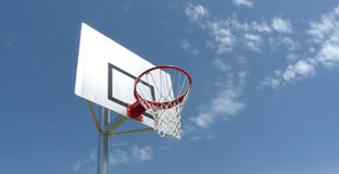 Red del baloncesto   Fotos de archivo
