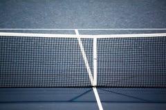 Red del campo de tenis fotografía de archivo