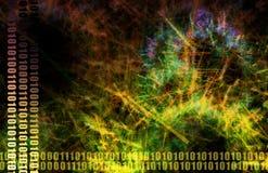 Red del compartir archivos de los datos del Web ilustración del vector