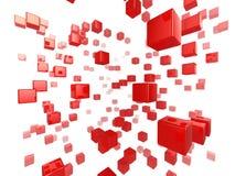 Red del cubo Fotografía de archivo