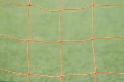 Red del fútbol imagenes de archivo